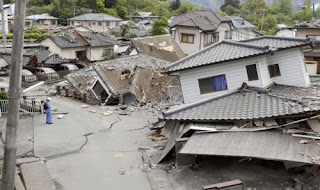 Gambar Akibat Gempa Bumi