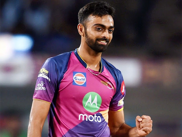 Jaydev Unadkat costliest Indian as Rajasthan Royals buy him for Rs 11.5 crore :IPL Auction