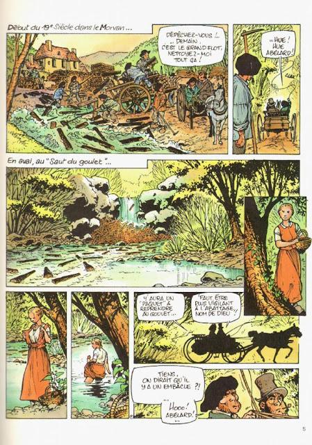 page extraite de LE GRAND FLEUVE T1 de Hiettre et Aillery chez Dupuis Repérages