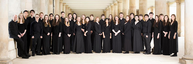 Stephen Layton and the choir of Trinity College, Cambridge
