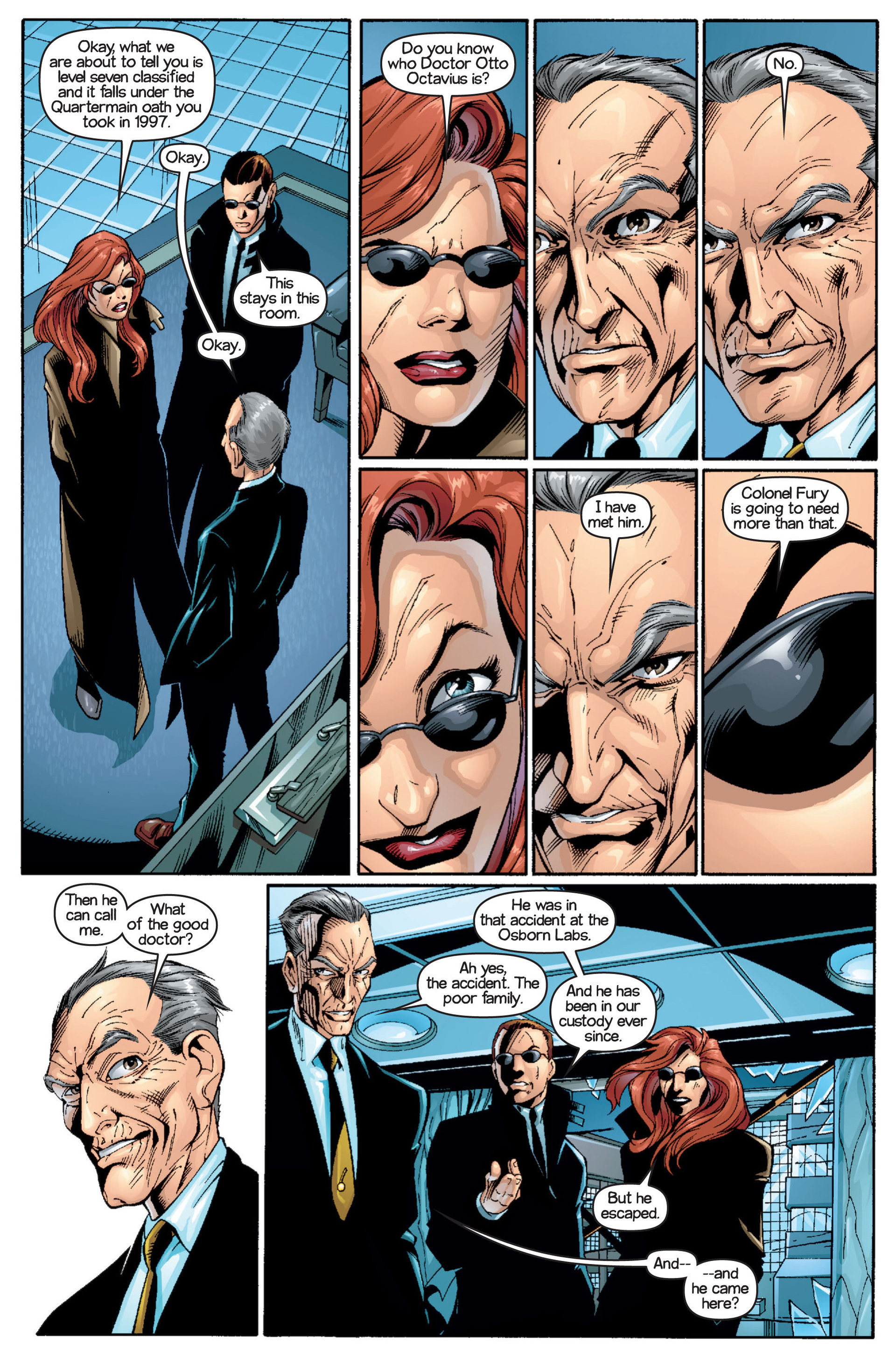 Read online Ultimate Spider-Man (2000) comic -  Issue #16 - 16