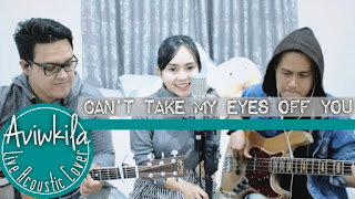 Frankie Valli - Can't Take My Eyes Off You (Cover Aviwkila)