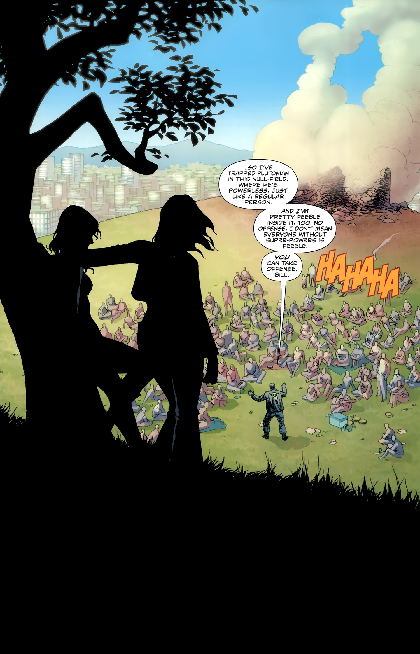 Read online Incorruptible comic -  Issue #30 - 20
