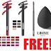 EXPIRED! Free Il Makiage Lip Liner, Eye Pencil Blender Brush or Brow and Lash Brush + Free Shipping