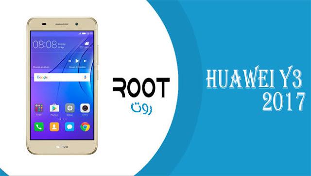 كيفية عمل روت لهاتف Huawei Y3 2017 طراز CRO-U00