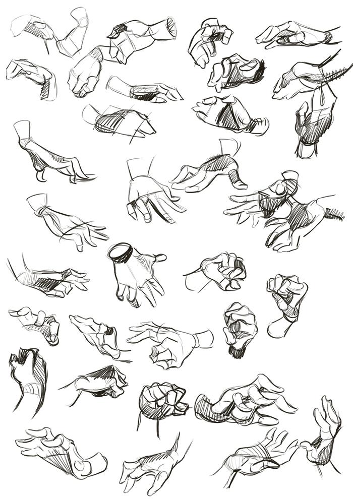 Hand Grabbing Drawing : grabbing, drawing, Drawing, Dublin:, Studies, Study
