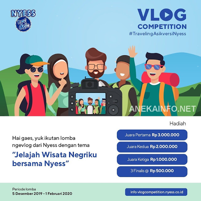 Lomba Vlog Competition #TravelingAsikversiNYESS