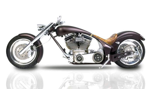 Một chiếc Chopper độ phong cách Xì-Gà Cuba