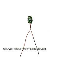 Урок плетения бисером: петельное плетение. Мастер-класс для начинающих