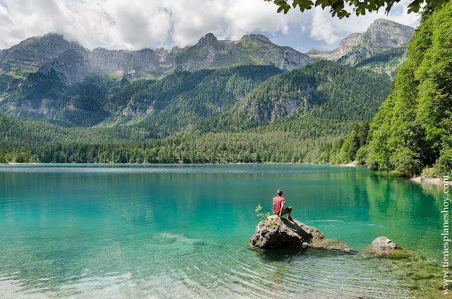 Lago di Tovel Rosso viaje Italia paisajes