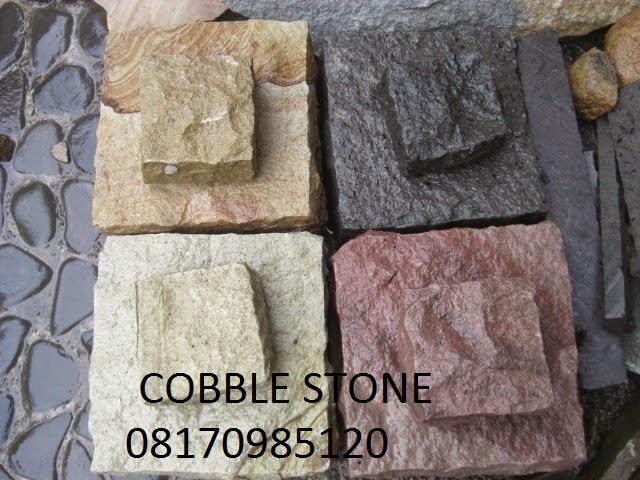 Jenis Batu Paving Cobble Stone Lombok