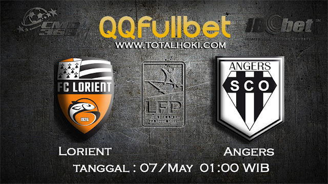 PREDIKSIBOLA - PREDIKSI TARUHAN LORIENT VS ANGERS 7 MAY 2017 (FRANCE LIGUE 1)