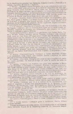 Artículo del Dr. Carlos Rodríguez Lafora sobre la III Olimpíada de Ajedrez Hamburgo (2)