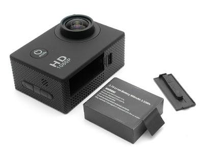 Spesifikasi Action Cam SJ4000 BUKAN SJCam - GudangDrone