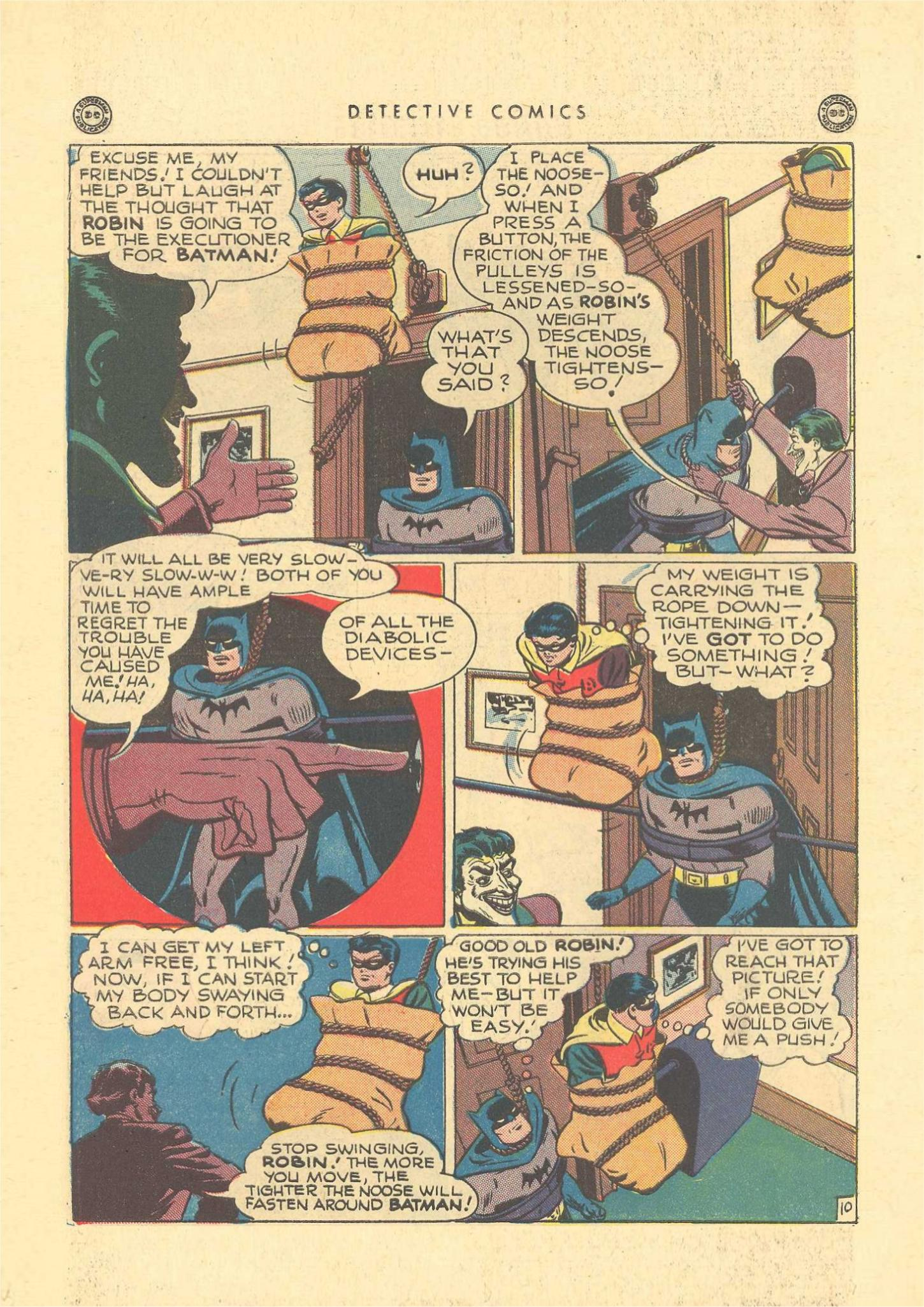 Read online Detective Comics (1937) comic -  Issue #109 - 12