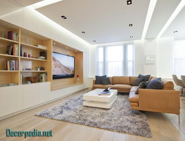 pop design, pop false ceiling design for living room and hall with led lights