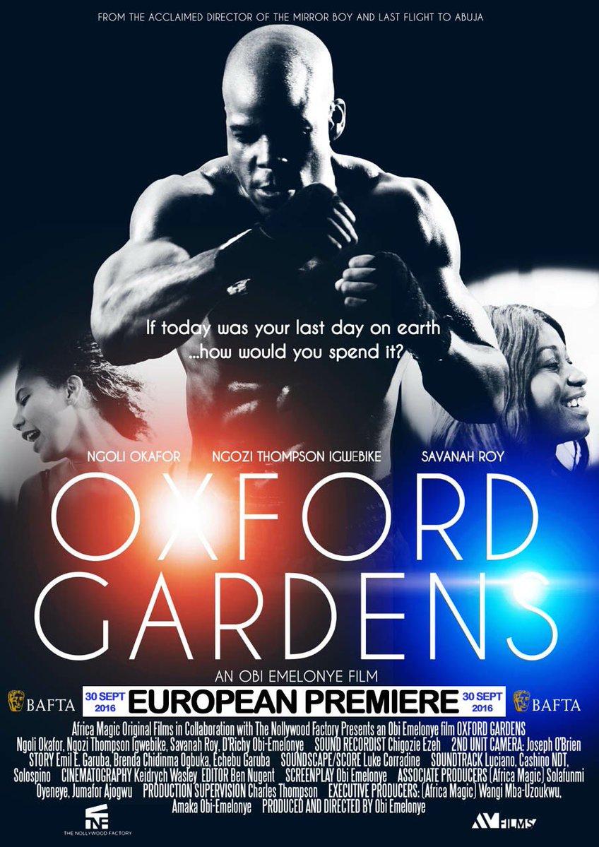 Oxford Gardens London Premiere