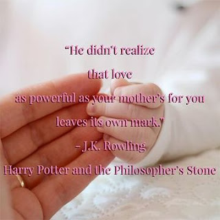 Mother's Day Saying from JK Rowling