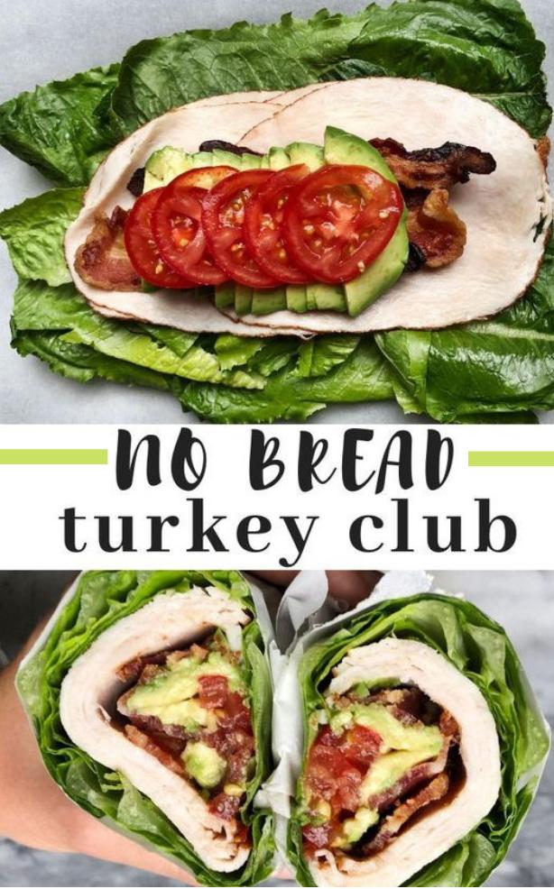 No Bread Turkey Club #turkey #diet