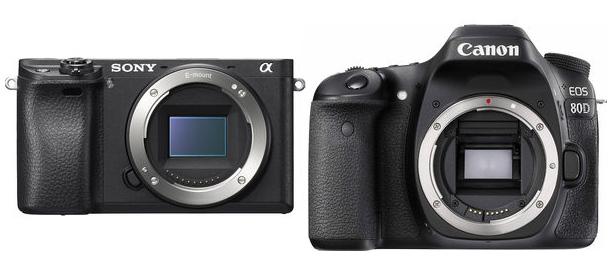 Сравнение Canon 80D и Sony A6300