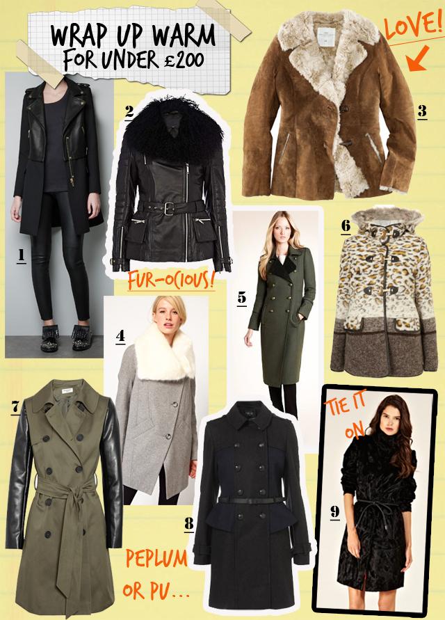 Coats under £200
