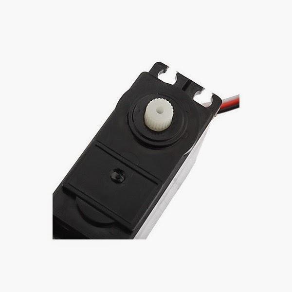 Helextron: Full Rotation 360 Degree Servo Motor DS04-NFC