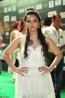 Meghana Gaur in a Deep Neck Sleeveless White Gown at IIFA Utsavam Awards 047.JPG