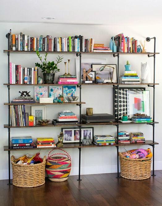10 fotos de librer as para el sal n - Librerias para despacho decoracion ...
