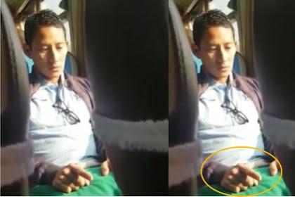 Direkam Kamera, Siapa Sangka Ini Yang Dilakukan Sandi di dalam Kereta