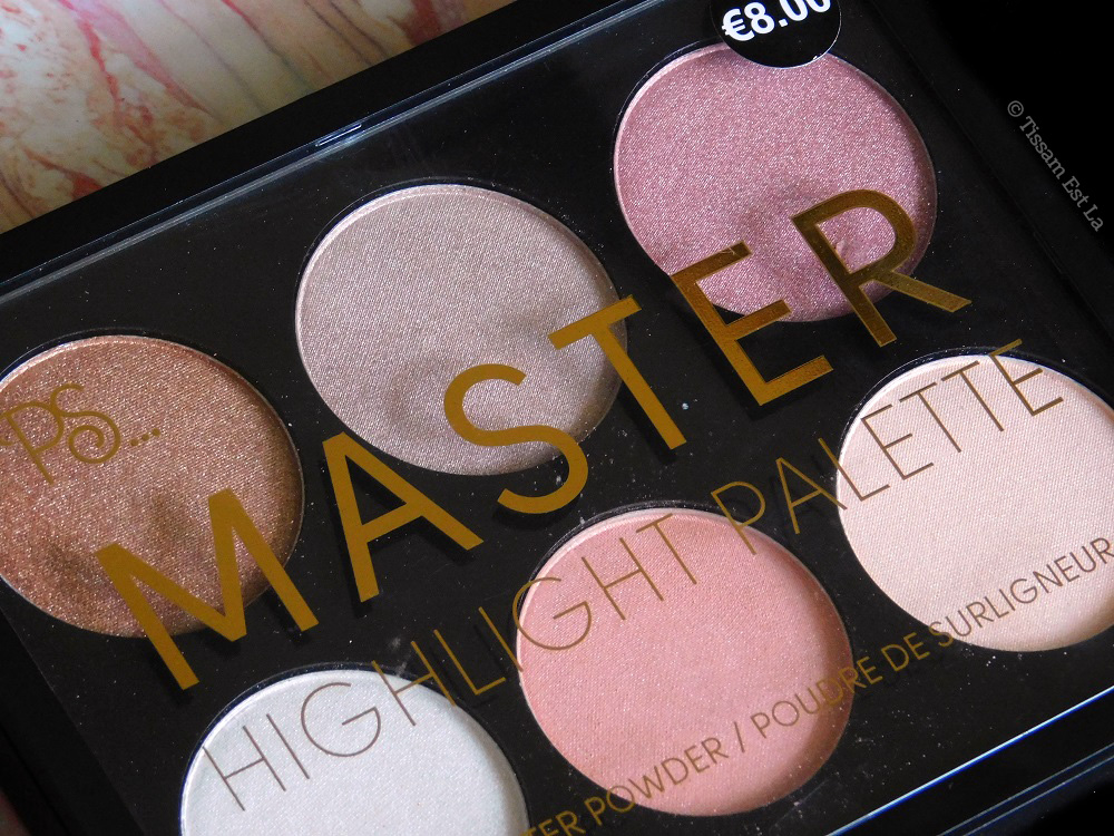 Primark PS... Master Highlight Palette - Review & Swatches - Avis et Revue - Swatch - Highlighter