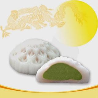 Bánh trung thu Bibca - Dẻo dứa đậu xanh không trứng