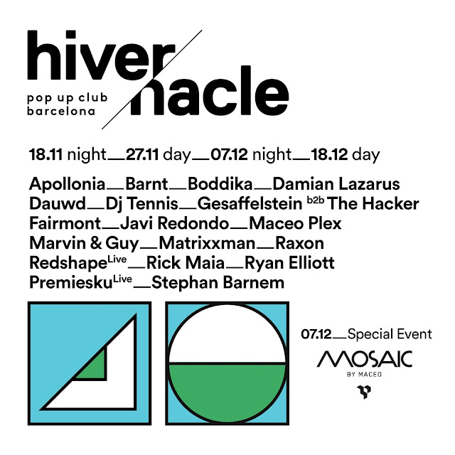 Hivernacle Pop Up Club Barcelona