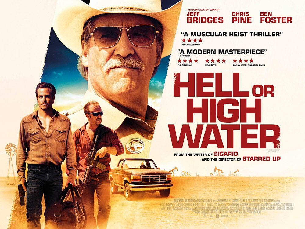 COMANCHERIA (Hell or High Water) cartel pelicula