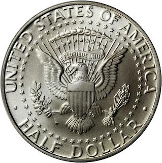 1998-S Silver Matte Proof Kennedy Half Dollar