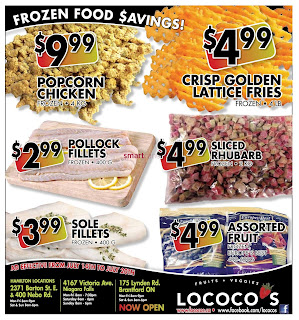 Lococo's Weekly Flyer July 14 – 20, 2017