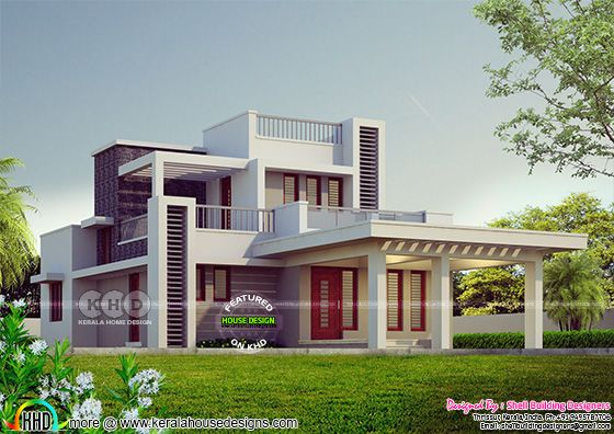 3 bedroom small contemporary house 1594 sq-ft