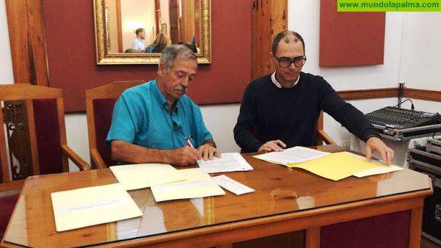 ADER La Palma y el Ayuntamiento de Villa de Mazo refrendan un nuevo convenio de colaboración en materia formativa