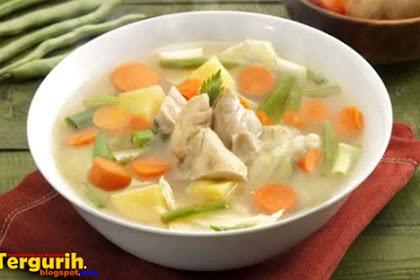 Resep Membuat Sup Ayam Lezat