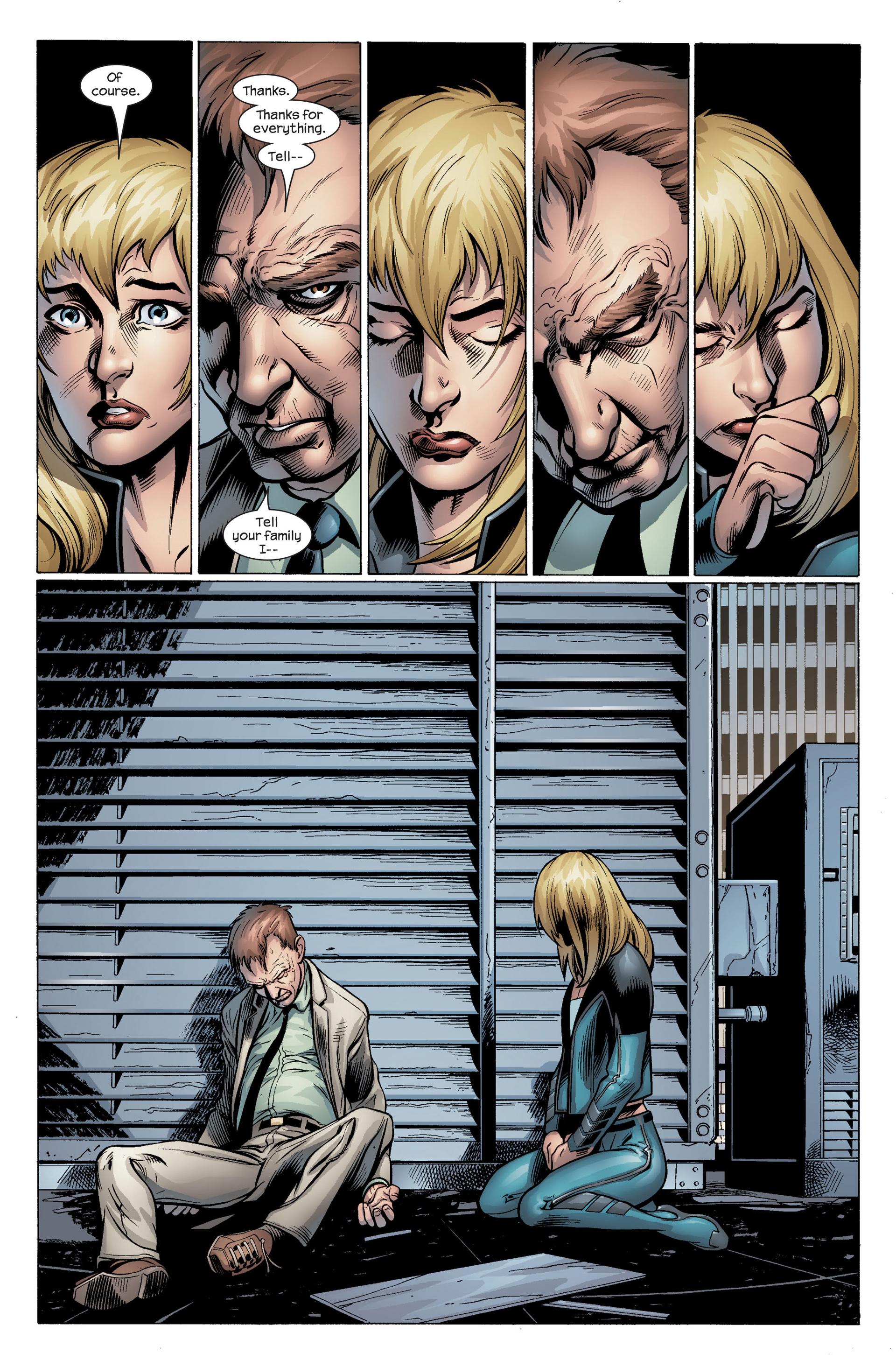 Read online Ultimate Spider-Man (2000) comic -  Issue #104 - 23