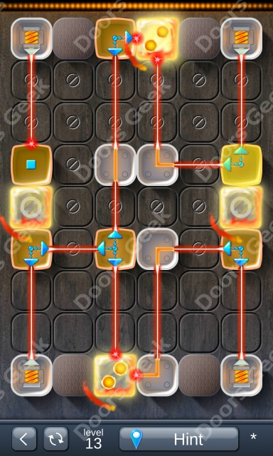 Solution for Laser Box - Puzzle (Classic) Level 13