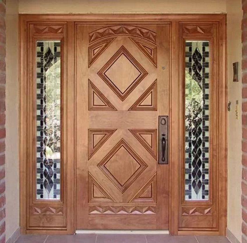 pintu depan rumah mewah 2