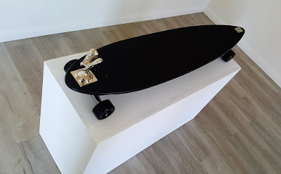 Spirit of Ecstasy - Rolls Royce longboard 43 inches
