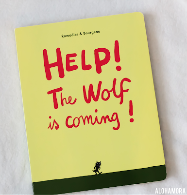 Help! The Wolf is Coming by Ramadier is an interactive picture book for toddlers through kindergartners.  It's a fun book, and perfect for that age b/c it is interactive.  3.5 out of 5 stars in my review. Alohamora Open a Book. http://alohamoraopenabook.blogspot.com/ picture book, board book, books for boys, fun books, raising readers, making reading fun