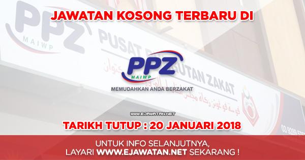 jawatan kosong kerajaan ppz 2018