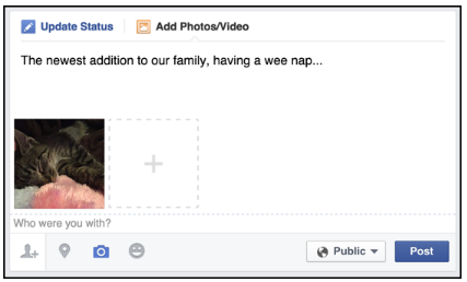 How to Add Photos to Facebook Post