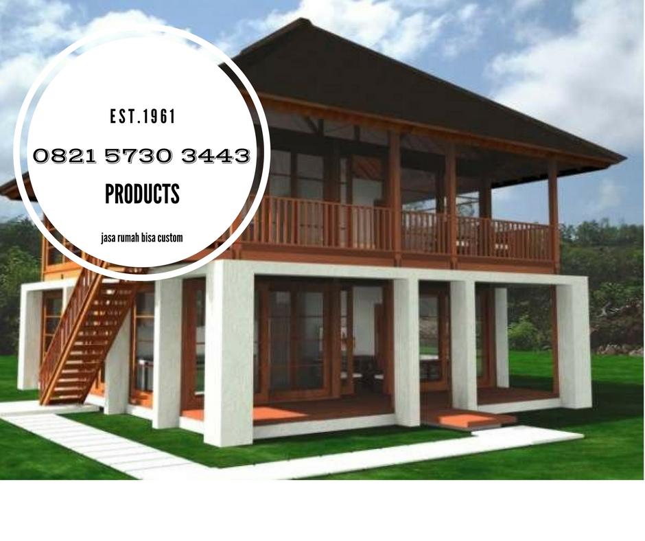Model Rumah Kayu Ulin Jasa Rumah Kayu 082157303443