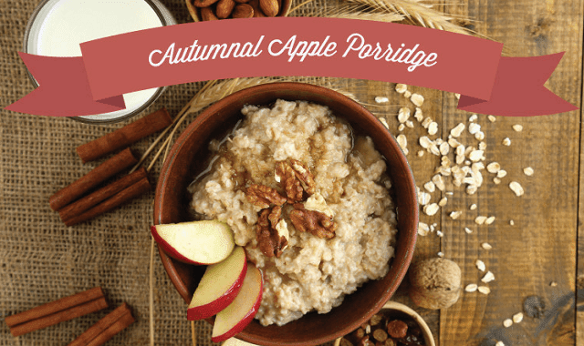 Image: Autumnal Apple Porridge