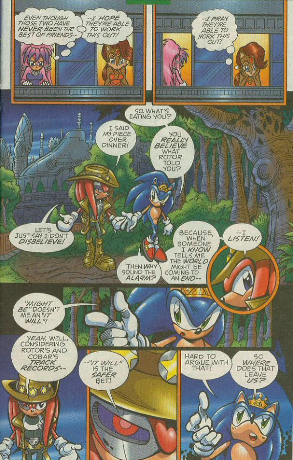 Read online Sonic The Hedgehog comic -  Issue #140 - 20