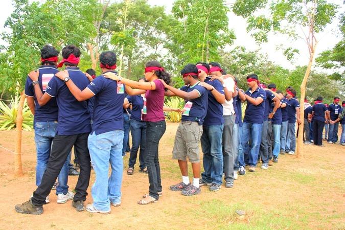 Blindfold Games For Team Building