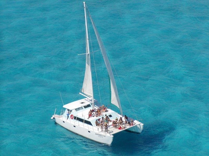 Catamaran Antares for 40 people